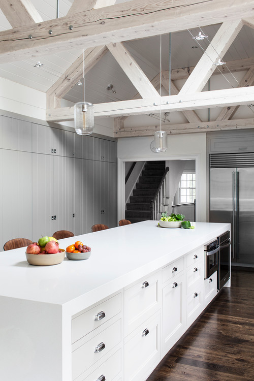 Transitional kitchen by cambridge architects designers lda architecture interiors