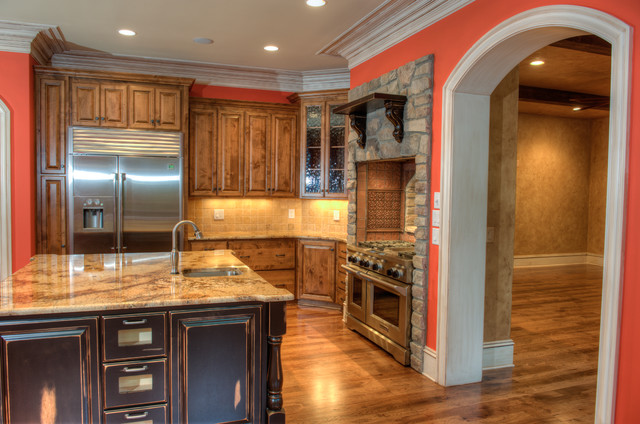 Meadowsweet Residence traditional-kitchen