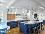 eclectic kitchen Houzz Tour: Ranch House Changes Yield Big Results (12 photos)