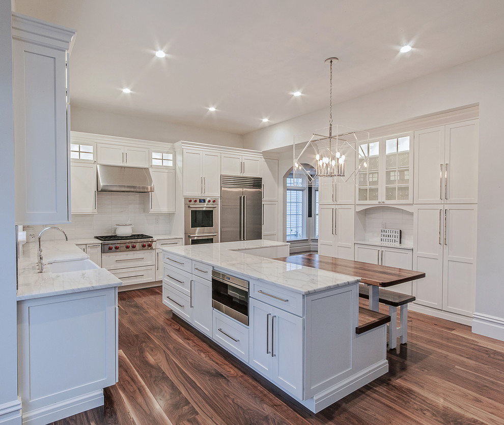 Medallion Cabinetry Gold Park Place Transitional Kitchen New York By Lakeville Kitchen And Bath