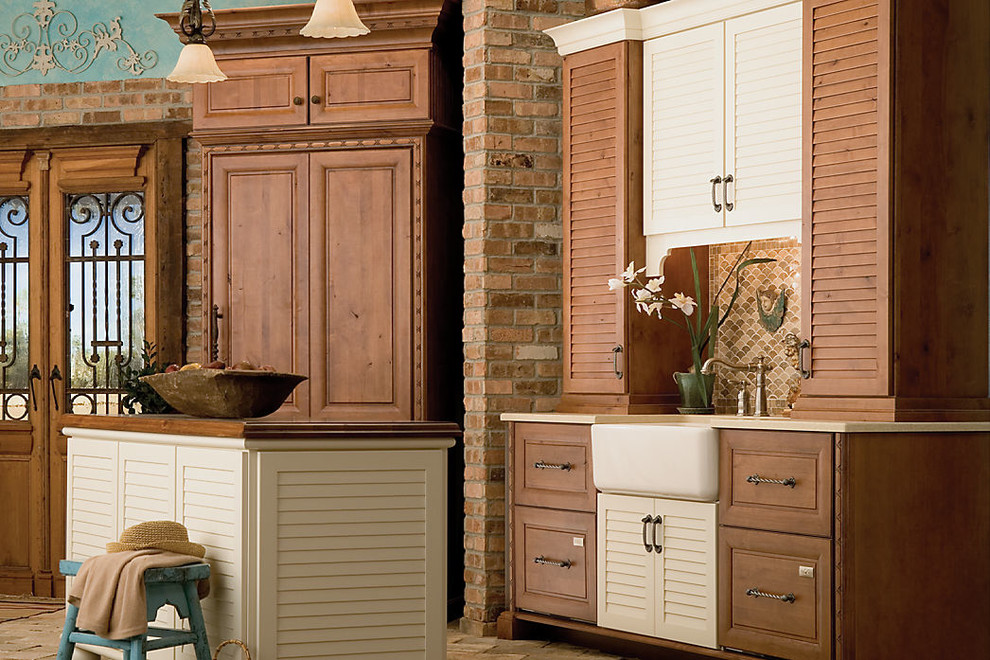 Medallion Cabinets - Tropical - Kitchen - Sacramento - by ...