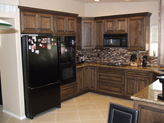 Medallion kitchen designs traditional kitchen for Kitchen cabinets jackson