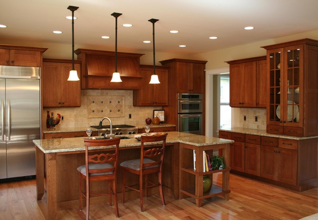 Medallion Mission Transitional - Contemporary - Kitchen ...