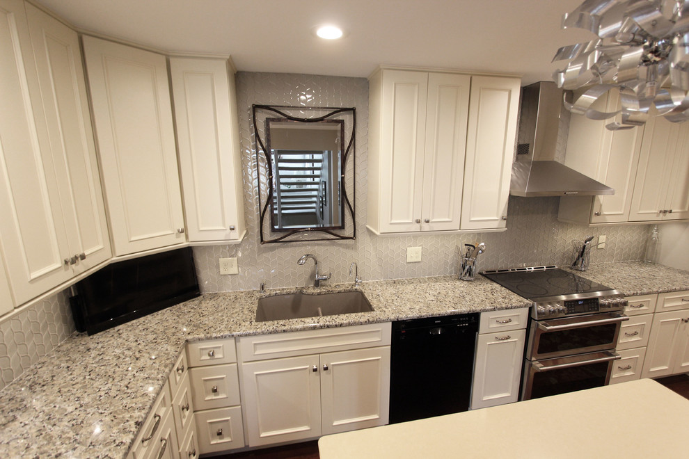 White Chocolate Kitchen Cabinets Medallion Painted White Chocolate Kitchen Cabinets with Petal