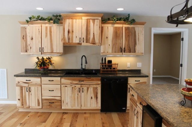 Good Medallion Yukon Hickory Rustic Kitchen Other By Bruce