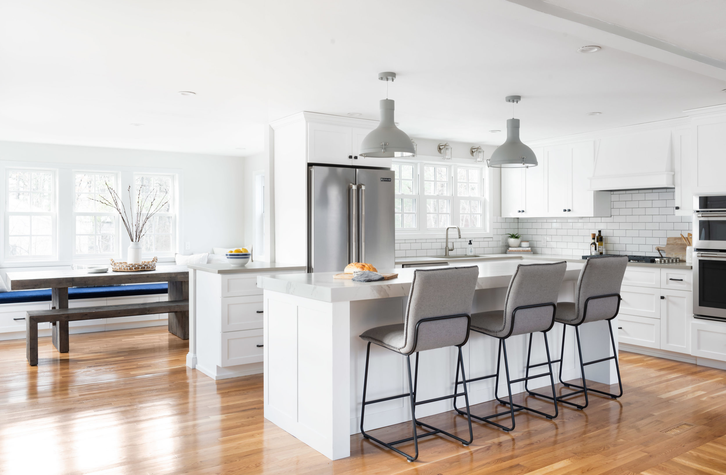 Medfield Kitchen and Dining Renovation