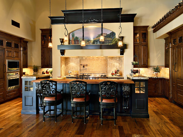 Olde World Kitchens mediterranean kitchen