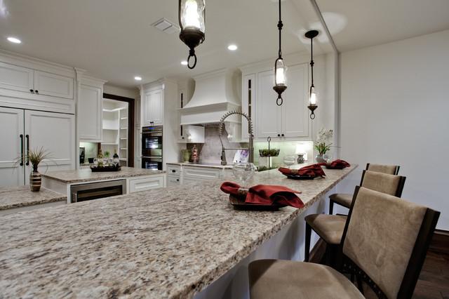 Dallas tx mediterranean kitchen dallas by bauhaus custom homes