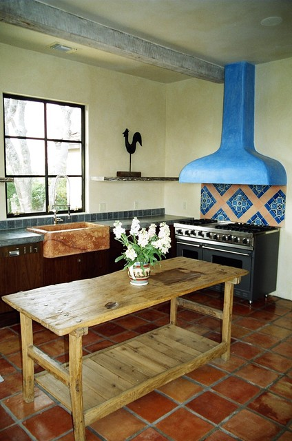 More Mexican Tile Mediterranean Kitchen Austin By