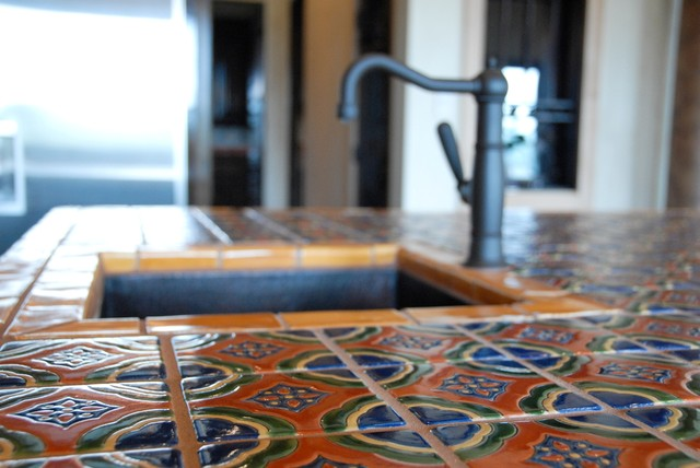 Mexican Tile Mediterranean Kitchen Austin By Clay