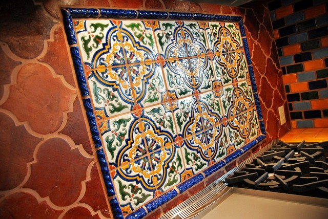 Mexican Tile - Mediterranean - Kitchen - Austin - by Clay ...