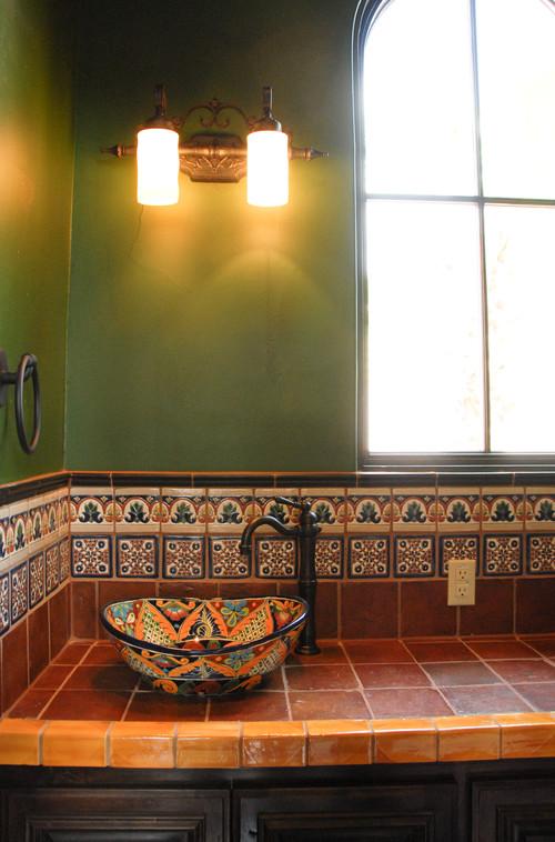 Saltillo Tile Kitchen Backsplash