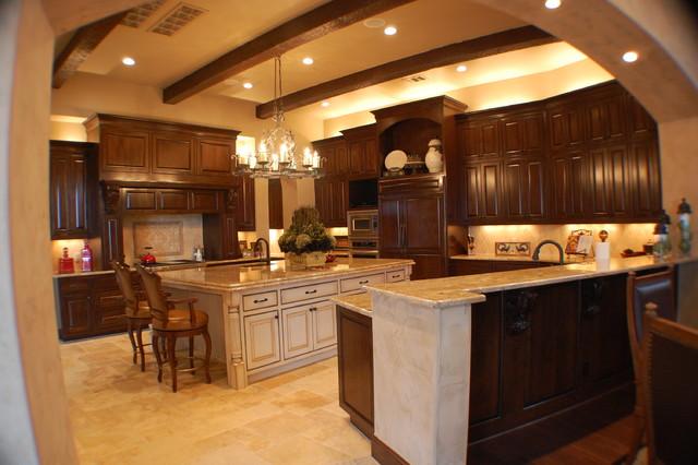 Anderson Residence Kitchen mediterranean-kitchen