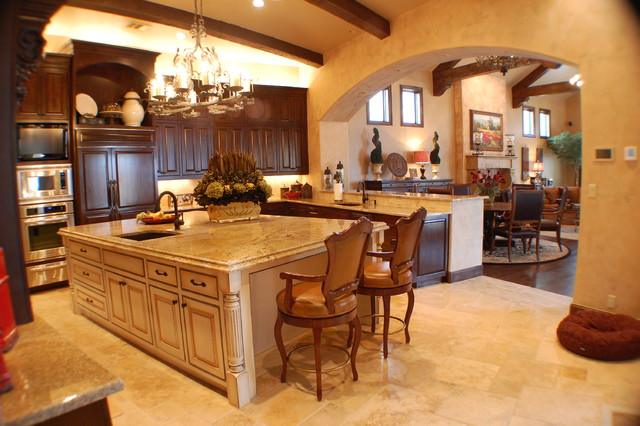 Anderson Residence Kitchen mediterranean-kitchen