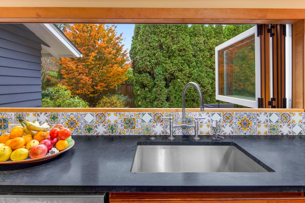 Mediterranean Kitchen I Clyde Hill