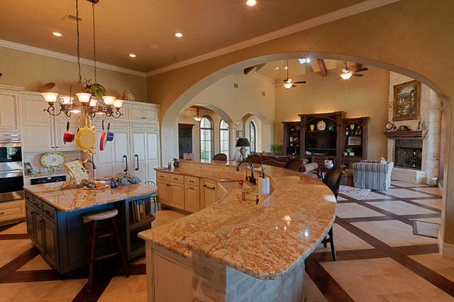 Kitchens by stadler custom homes mediterranean kitchen Mediterranean custom homes