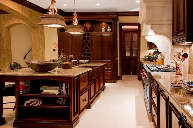 Kitchen by In Detail Kitchens, Baths, Interiors -Cheryl Kees-Clendenon, designer mediterranean-kitchen