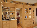 traditional kitchen Wake Up Your Kitchen With a Deluxe Coffee Center (10 photos)