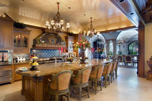 Italian villa formal kitchen