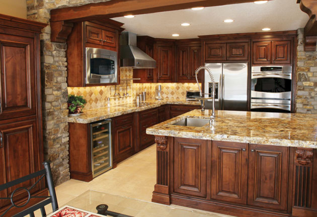 Kitchen Mediterranean Kitchen Phoenix By Stone