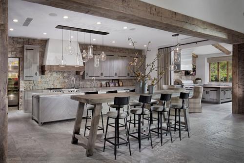 Konsep dapur terbuka yang popular dan menjadi pilihan masa kini