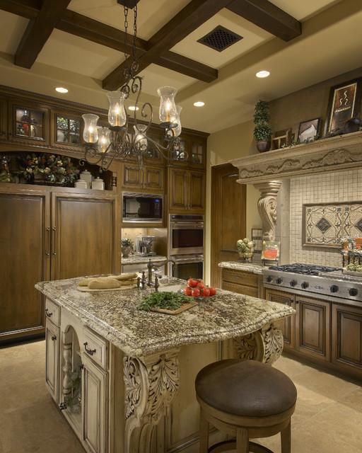 Mediterranean Kitchen Designs: Mediterranean Scottsdale High Desert