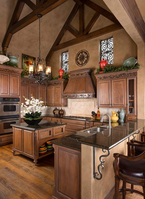 Casual Elegance in Plano, TX - Mediterranean - Kitchen ...