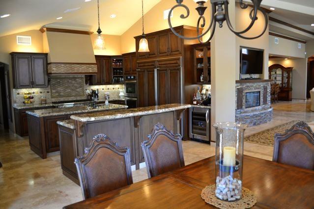 Mediterranean Villa kitchen remodel