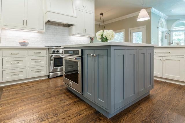 Medium Kitchen Remodel Transitional Kitchen Houston By Design Over Coffee