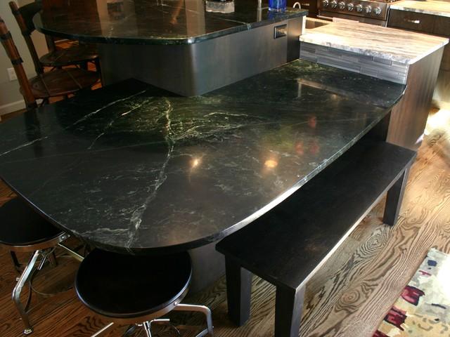 Melbourne Circle - Contemporary - Kitchen - Denver - by BKC Kitchen ...