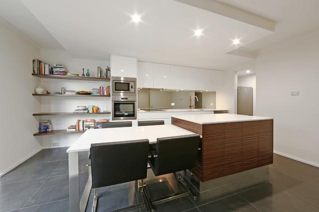 Melbourne City 2 Contemporary Kitchen Melbourne By Melbourne Contemporary Kitchens