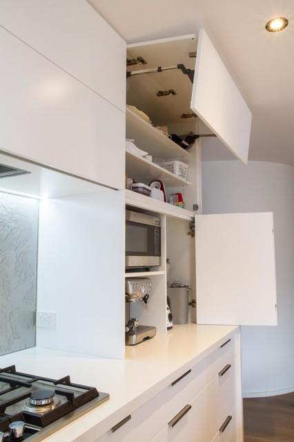 melbourne kitchen and laundry modern kitchen