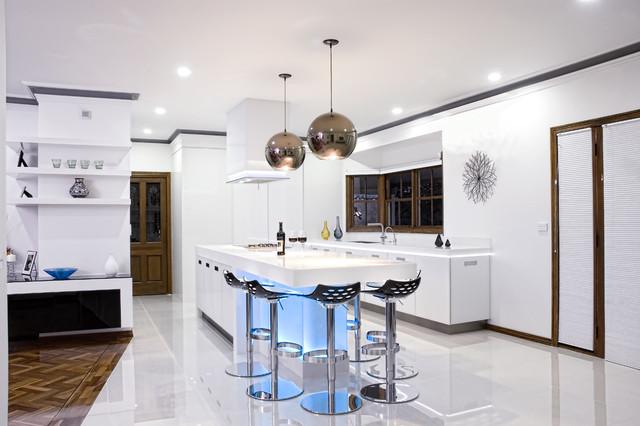 Melbourne Kitchen modern-kitchen