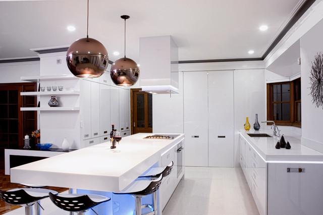 Melbourne Kitchen Modern Kitchen Los Angeles By Mal Corboy Design