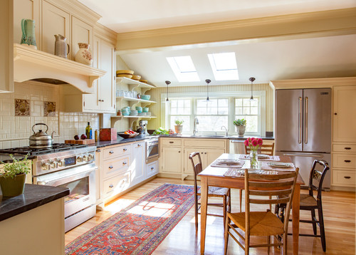 kitchen designers melrose ma kitchen of the week swapping out the 1980s for the 1890s 829