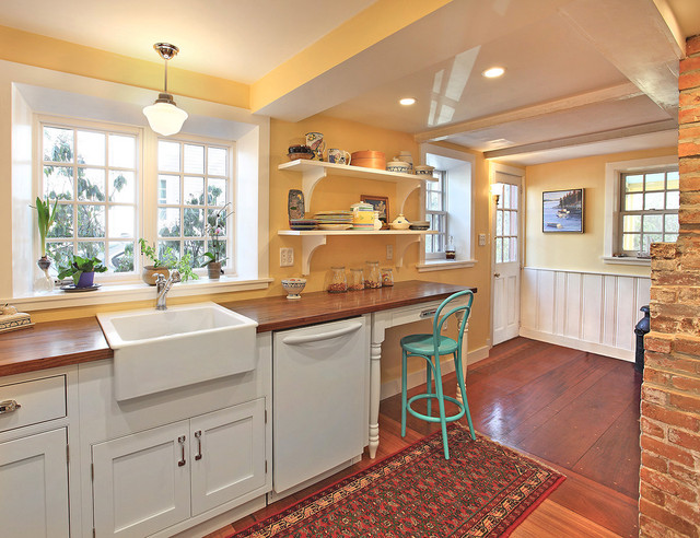White Kitchen Cabinets Yellow Walls cooking with color: when to use yellow in the kitchen