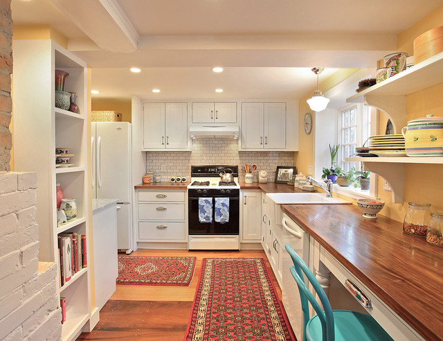 Melrose Kitchen  Traditional  Kitchen  Boston  by Luciano Group