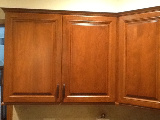 Melville Kitchen Reface with Soffit - Contemporary ...
