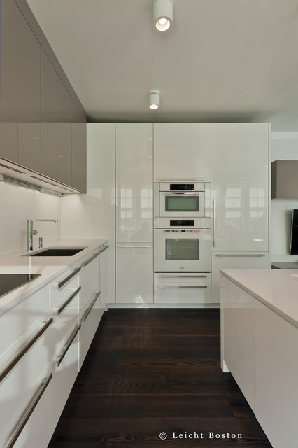 Memorial Drive Cambridge Ma Modern Kitchen Other By Divine Design Center