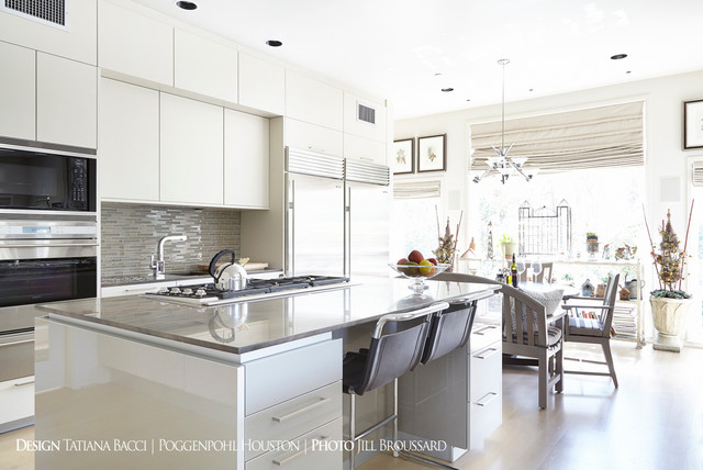 Memorial contemporary-kitchen