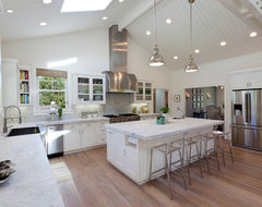 Menlo Park Home traditional kitchen