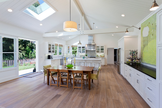 Menlo Park Home traditional-kitchen