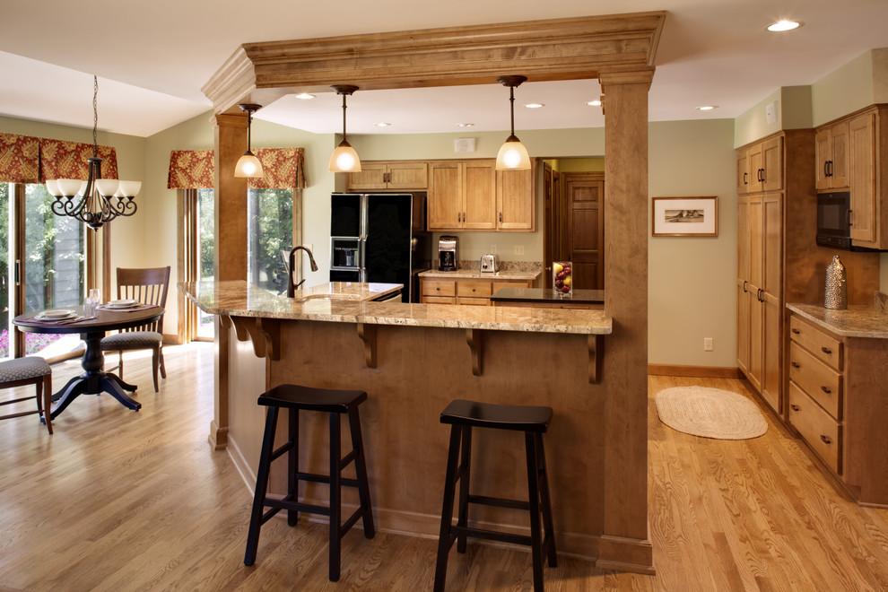 Menomonee Falls Transitional Kitchen - Traditional ...
