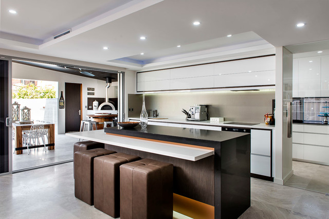 Menora Residence In Perth Western Australia Contemporary Kitchen Perth By Moda Interiors