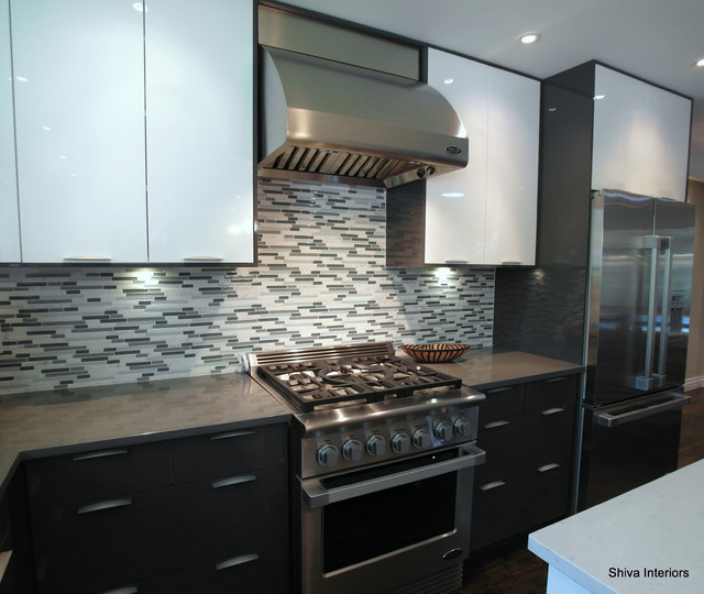Merali Split Level Contemporary Kitchen Ottawa By 7j Design Ottawa
