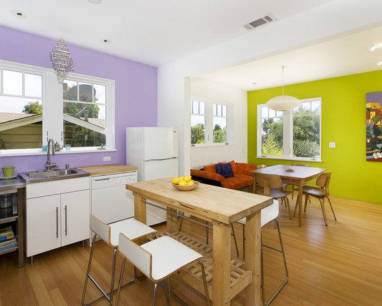 Purple and green home design ideas pictures remodel and for Purple and green kitchen ideas