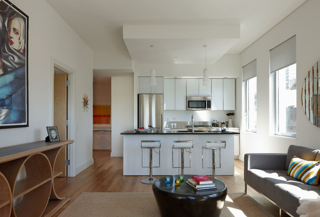 Mercedes House - Midtown Modern Interior Design, 2 Bedroom modern-kitchen