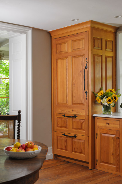 Mercer hill farm traditional kitchen philadelphia for Building traditional kitchen cabinets by jim tolpin