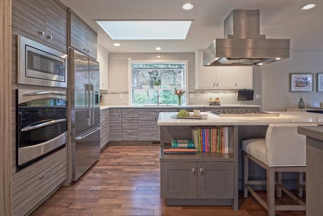 mercer island kitchen with beverly bradshaw interiors contemporain cuisine seattle par. Black Bedroom Furniture Sets. Home Design Ideas