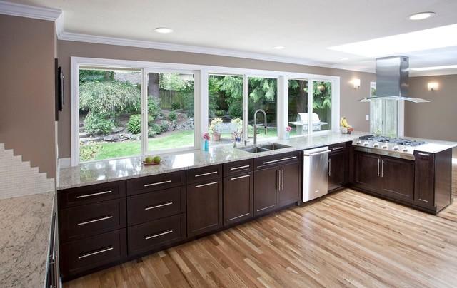 Mercer Island Remodel contemporary-kitchen
